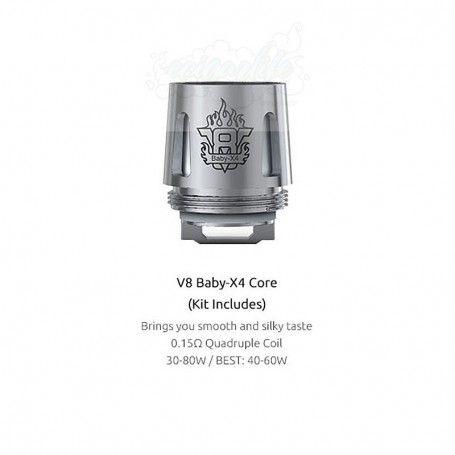 Smok TFV8 Baby Coil X4
