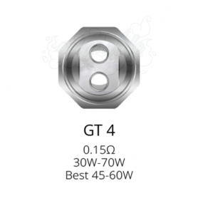 Coil GT4 Core para NRG Vaporesso