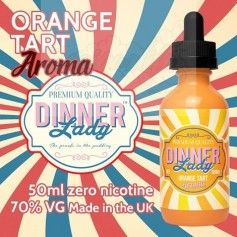 Orange Tart - Dinner Lady