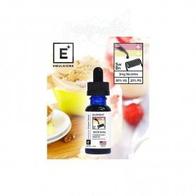 Strawberry Whip + Banana Nut 10ml - Element-Eliquid