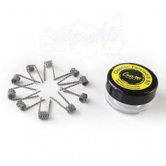 Resistencias Clapton Twisted pack 10 - Coilart