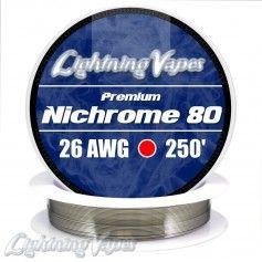 Nichrome 80 Cable resistencia 26GA - Lightning Vapes