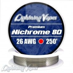 Nichrome 80 Cable resistencia 26GA - Lightning Vapes