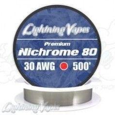Nichrome 80 Cable resistencia 30GA - Lightning Vapes