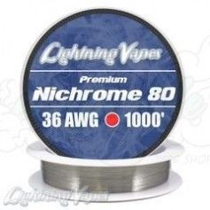 Nichrome 80 Cable resistencia 36GA - Lightning Vapes