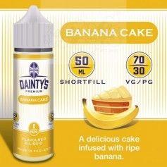 Banana Cake - Dainty´s Premium