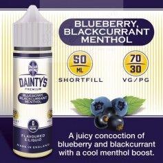Blueberry Blackcurrant Menthol - Dainty´s Premium