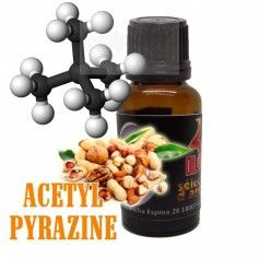 Molecula Acetyl Pyrazine - OIL4VAP