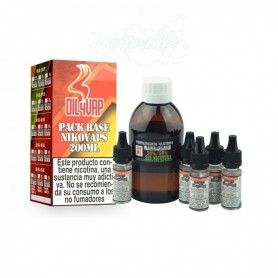 Pack Base + Nicokits 6mg 200ml - Oil4vap