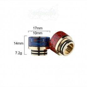 Drip Tip 810 resina y oro Snake