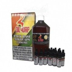 Pack Base + Nicokits 1,5 mg, 1 Litro - Oil4vap