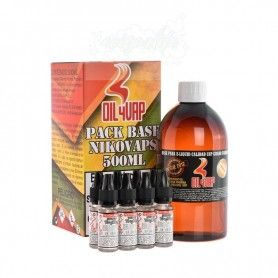 Pack Base + Nicokit 6mg 500ml Oil4vap