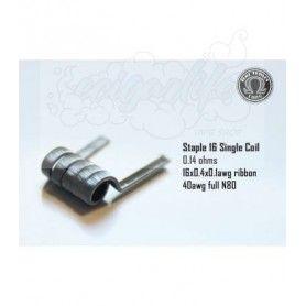 Resistencia Staple 16 Full Ni80 - Bacterio Coils