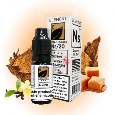 nacho Honey Roasted Tobacco Salt - Element