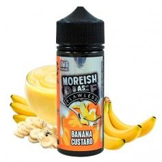 nacho Custards Banana 100 ML - Moreish Puff