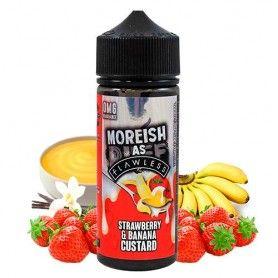nacho Custards Strawberry & Banana 100 ML - Moreish Puff