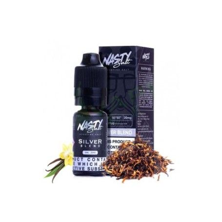 nacho Silver Blend Salt 10 ML - Nasty Juice