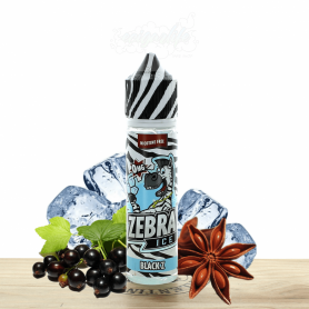 Black Z 50 ML - Zebra Juice Ice