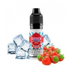 Nic Salt Strawberry Ice 10 ml - Dinner Lady