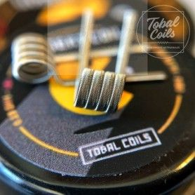 Resistencias Insert Coil 0.13 Ohm - Tobal Coils
