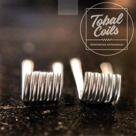 Resistencias Mini Erizo 0.21Ohm - Tobal Coils
