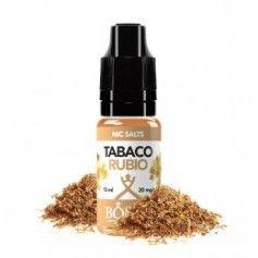 nacho Nic Salt Tabaco Rubio 10ML - Bombo