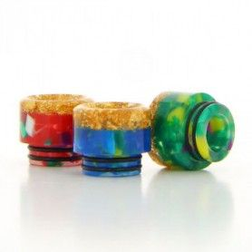 Drip Tip 810 Epoxy Resin/Gold