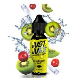 Kiwi & Canberry On Ice 50ML - Just Juice