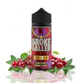 Cherry Menthol 80ML - Broke Baller