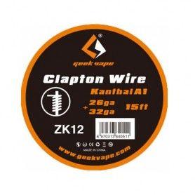 Kanthal A1 Clapton Wire 26ga 32ga 15ft - Geekvape