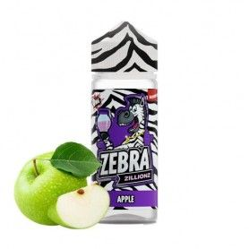 Apple 100ML - Zebra Juice Zillionz