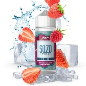 Strawberry Raspberry On Ice 100 ML - Sqzd Fruit Co