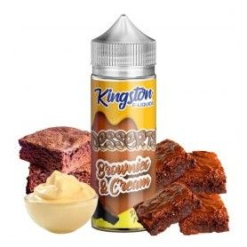 Brownies and Cream 100ml - Kingston E-liquids